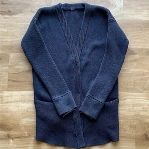 Lululemon We Like to Cardi Cardigan Sweater Navy 4